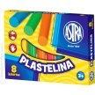Plastelina szkolna ASTRA 8 kolorów