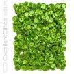 Cekiny holograficzne DALPRINT 9 mm, 15g jasno-zielone