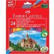 Kredki ołówkowe FABER CASTELL Zamek 24 kolory
