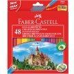Kredki ołówkowe FABER CASTELL Zamek 48 kolorów