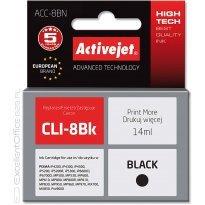 Active Jet Tusz CANON CLI-8BK Black (CHIP) ( iP3300/5200/MP600r) 14ml