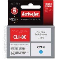Active Jet Tusz CANON CLI-8C Cyan (CHIP) (IP3300/5200/MP600r) 14ml