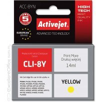 Active Jet Tusz CANON CLI-8Y Yellow (CHIP) (iP3300/5200/MP600r) 14ml
