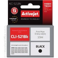 Active Jet Tusz CANON CLI-521BK Black (CHIP) (IP3600/MX860/MP630) 10ml