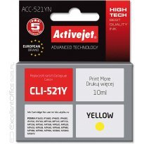 Active Jet Tusz CANON CLI-521Y Yellow (CHIP) (IP3600/MX860/MP630) 10ml