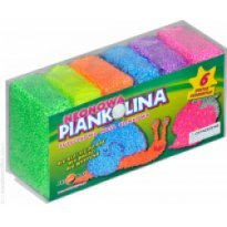 Piankolina ART AND PLAY 6 kolorów neonowych