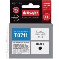 Active Jet Tusz EPSON T0711 Black (D78/DX4000) 15ml