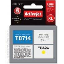 Active Jet Tusz EPSON T0714 Yellow (D78/DX4000) 15ml