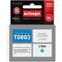 Active Jet Tusz EPSON T0802 Cyan (R265/360/685) 13,5ml