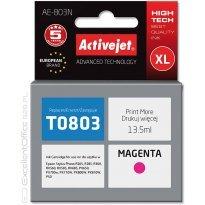 Active Jet Tusz EPSON T0803 Magenta (R265/360/685) 13,5ml
