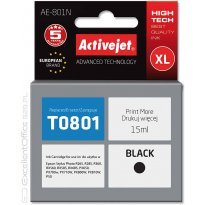 Active Jet Tusz EPSON T0801 Black (R265/360/685) 15ml