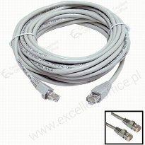 Kabel sieciowy UTP Active Jet 5m szary