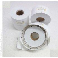 Etykieta kartonowa ZEBRA 48x36.3 termiczna,perforowana (1000szt)
