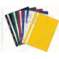 Skoroszyt akt osobowych zaw. BIURFOL A4 żółty (10szt)