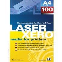 Folia LX ARGO A4 do druku laserowego transparentna (100szt)