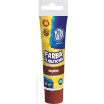 Farba plakatowa ASTRA brązowa 30 ml.
