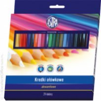 Kredki akwarelowe ASTRA 24 kolory