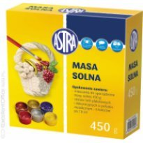 Masa solna ASTRA 0.45kg + kpl. 6 farb