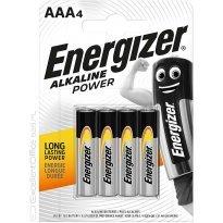 Baterie alkaliczna ENERGIZER LR03 AAA 1,5V (4szt)