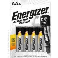 Bateria alkaliczna ENERGIZER LR06 AA 1,5V (4szt)