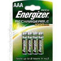 Akumulatorki ENERGIZER HR03 AAA 800mAh (4szt)