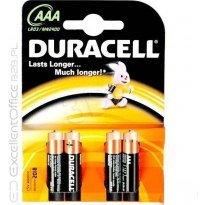 Bateria alkaiczna DURACELL LR3/AAA (4 szt)