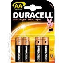 Bateria alkaiczna DURACELL LR6 AA (4szt)