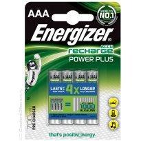 Bateria akumulator Energizer,AAA, HR03, 1,2V, 700mAh (4szt)