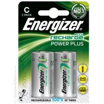 Bateria akumulator ENERGIZER Power Plus, C, HR14, 1,2V, 2500mAh (2szt)