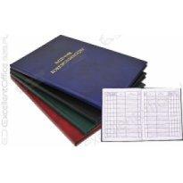 Książka korespondecyjna BARBARA A4/96k zielona