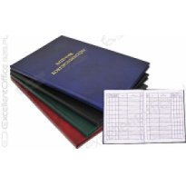 Książka korespondencyjna BARBARA A4/300k zielona
