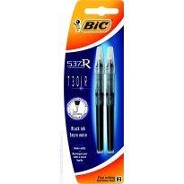 Wkład do Rollera BIC 537R/730R 0.5 czarny (2szt)