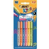 Flamastry BIC Kids Mini Kid Couleur 12kol.