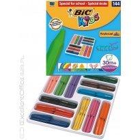 Kredki świecowe BIC Kids Plastidecor Triangle (trójkątne) 12kol. (144szt) 887833