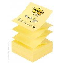 Bloczek samop. 3M 76*76 żółty Z-notes (100kart.) R330