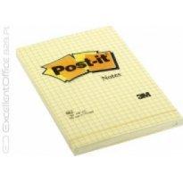 Bloczek samop. 3M 102*152 żółty w kratkę (100kart) 662