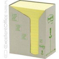 Bloczki samop. 3M EKO 76*127 żółte (24-bl) 655-1T