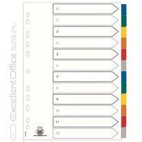 Przekładki kartonowe ELBA MYLAR A4+ Maxi 6 kolorów 100204992