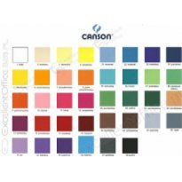 Brystol CANSON COLORLINE 50x65cm 150g niebieski