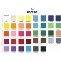 Brystol CANSON COLORLINE 50x65cm 150g kobaltowy