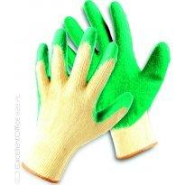 Rękawice ekonomiczne FRIDRICH&FRIDRICH Clinker (HS-04-002), montażowe, rozm. 8, żółto-zielone