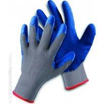 Rękawice ekonomiczne FRIDRICH&FRIDRICH Clinker (HS-04-002), montażowe, rozm.10, szaro-niebieskie