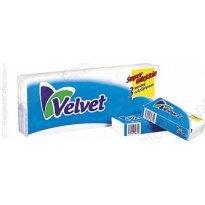 Chusteczki higieniczne VELVET 10x10szt
