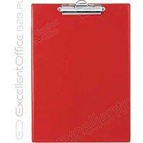 Deska z klipem BIURFOL A5 czerwona