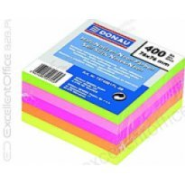 Bloczek samop. DONAU 76x76 kolor neon (400) 7574001PL-99