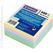 Bloczek samop. DONAU 76x76 kolor pastel (400ark) 7573001PL-99
