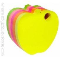 """Bloczek samop.DONAU """"jabłko"""" 1x400szt neon mix kolor"""