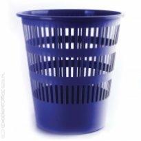 Kosz na śmieci DONAU ażurowy 16L niebieski