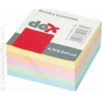 Bloczek wkład DOX 85*85/40 kolorowy nieklejony