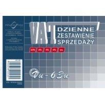 Druk Dzienne zestawienie sprzedaży A6 VU63u Michalczyk i Prokop